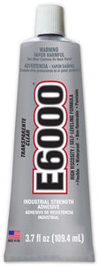E6000® Glue Clear High Viscosity 3.7oz tube #220011 - Creative Wholesale