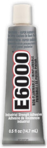 E6000 Glue MV Clear .5oz Tube 12/Case  230516C - Creative Wholesale