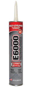 E6000 Glue Clear Medium Viscosity 10.2 oz Cartridge #232021 - Creative Wholesale