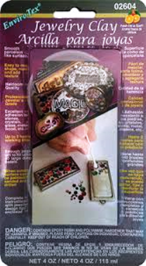 Envirotex Jewelry Clay 4 oz Blister Pack Item #2604 - Creative Wholesale