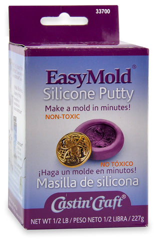 Easymold RTV Silicone Puddy 1/2 lb Kit 33700 - Creative Wholesale