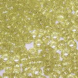 Pony Beads 6 x 9mm Sparkle Colors Pkg 1000  750V