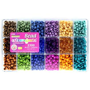 Bead Box Extravaganza Mardi Gras Mix  #6589 - Creative Wholesale