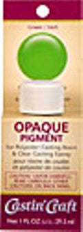 Opaque Pigment Green 1 oz.,  #46329C  --  Case of 6 - Creative Wholesale