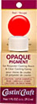 Opaque Pigment Red 1 oz., #46302C  -  Case of 6