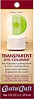 Transparent Dye Green 1 Ounce  #46432