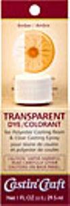 Transparent Dye Amber 1 Ounce  #46436 - Creative Wholesale
