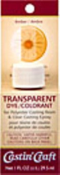 Transparent Dye Amber 1 Ounce  #46436