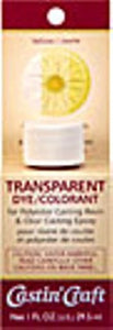Transparent Dye Yellow 1 oz.  #46438C  -  Case of 6 - Creative Wholesale