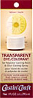Transparent Dye Yellow 1 oz.  #46438C  -  Case of 6