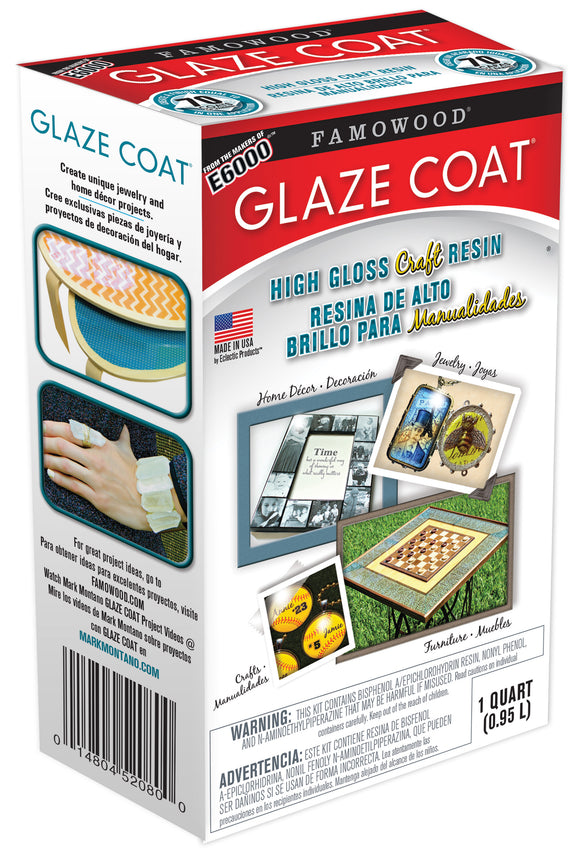 Famowood Glaze Coat Epoxy Coating One Quart Kit 5050080