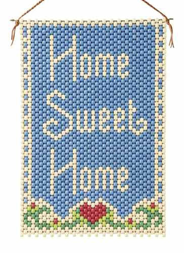 Beaded Banner Kit Home Sweet Home #5067 - Creative Wholesale