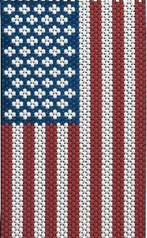 Beaded Banner Kit, American Glory #5190 - Creative Wholesale