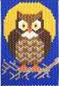 Beaded Banner Kit, Owl  #5858 - Creative Wholesale