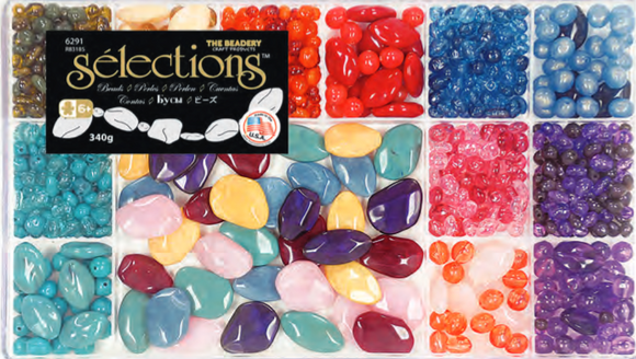 Bead Box Giant Semi Precious  #6291 - Creative Wholesale