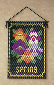 Beaded Banner Kit Spring  #7136 - Creative Wholesale