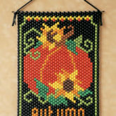 Beaded Banner Kit Autumn Pumpkin  #7138 - Creative Wholesale