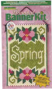 Beaded Banner Kit Spring   #7273 - Creative Wholesale