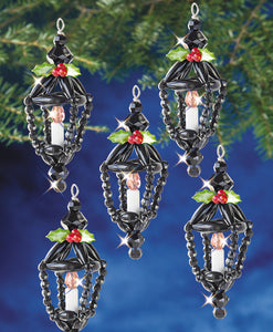 Beadery Holiday Ornament Kit Christmas Lantern #7473  (NEW) - Creative Wholesale