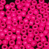 Pony Beads 6 X 9mm, Frosted/Matte Colors Pkg 1000 - Creative Wholesale