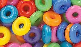 Ring Beads Value Pack 14mm Circus Multi 1/4 lb 847SV289 - Creative Wholesale