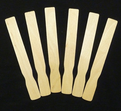 "Fan Handles, Fan Sticks, 9"" Natural 100 Pieces  PP9118-100"