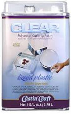 Castin' Craft Clear Polyester Casting Resin with Catalyst Gallon Kit. - Creative Wholesale