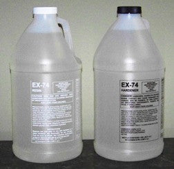 EX-74 Epoxy resin for Resin Art, Bars, Tables and more 2 Gallon Kit, $117.99 - Creative Wholesale