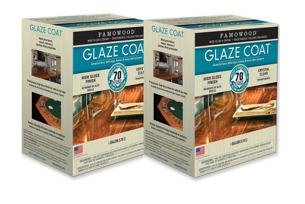 Famowood Glaze Coat Epoxy Coating Two Gallon Kit - Creative Wholesale