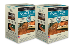 Famowood Glaze Coat Epoxy Coating Two Gallon Kit 5050110C - Creative Wholesale