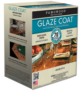 Famowood Glaze Coat Epoxy Coating One Gallon Kit 5050110 - Creative Wholesale