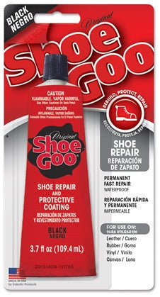 Shoe Goo Black 3.7 ounce 12 Per Case 110212C - Creative Wholesale