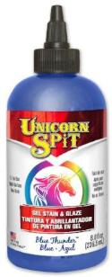 UNICORN SPIT, Blue Thunder, 8 oz bottle.