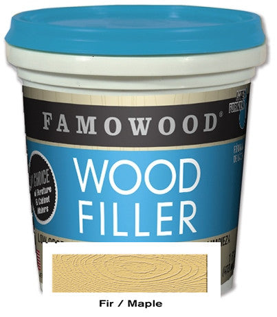Famowood Latex Wood Filler 24 oz. Fir/Maple 12/Case 40022118C