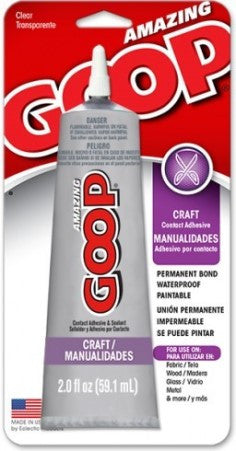 Amazing Craft Goop 2 ounces 6 Per Case 190511C - Creative Wholesale