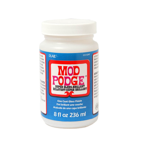 Mod Podge 8 ounce Super Gloss Topcoat CS11297 - Creative Wholesale