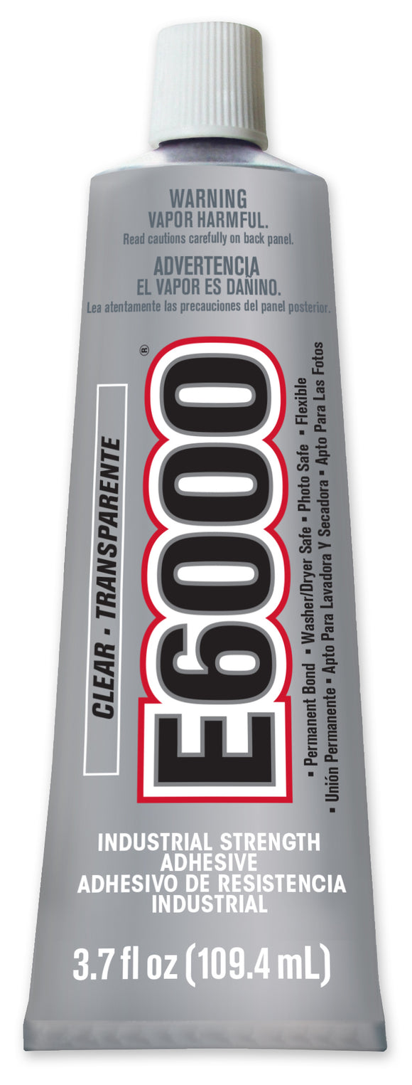 E6000® CRAFT Glue Clear Med Viscosity 3.7 oz tube Case/12 #230010C - Creative Wholesale