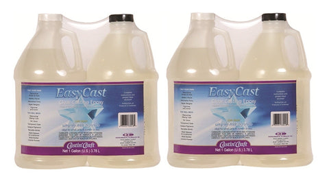 Easy Cast Clear Casting Epoxy 2 Gallon Case  #33128C - Creative Wholesale