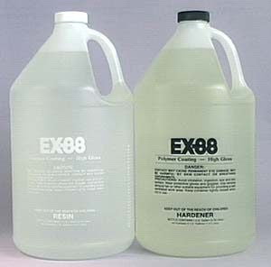 EX-88 Epoxy Coating, Two Gallon Kit - Creative Wholesale