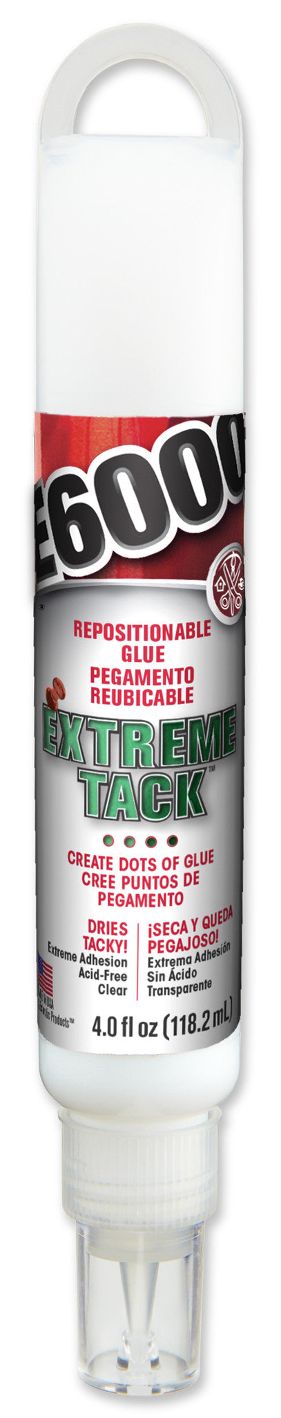 Extreme Tack 4 fl ounce Hang Bottle 565102 - Creative Wholesale