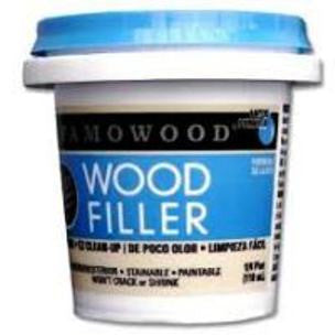 Famowood Latex Wood Filler 24 oz. 12/Case White  40022144C
