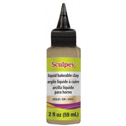 Gold Liquid Sculpey ALSGD02 - Creative Wholesale