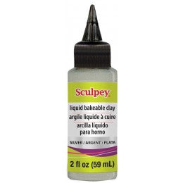 SILVER Liquid Sculpey, ALSSV02 (New Product)