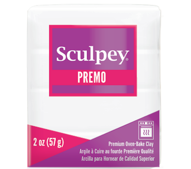 Premo Sculpey® White, 2 oz bar  PE02 5001