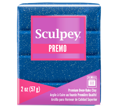 Premo Sculpey® Accents Galaxy Glitter, 2 oz bar  PE02 5005 - Creative Wholesale