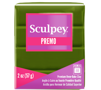 Premo Sculpey® Spanish Olive, 2 oz bar, PE02 5007