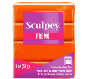 Premo Sculpey® Orange, 2 oz bar. PE02 5033 - Creative Wholesale
