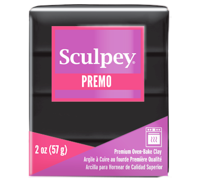 Premo Sculpey® Black, 2 oz bar, PE02 5042 - Creative Wholesale