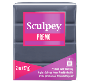Premo Sculpey® Slate 2 oz bar PE02 5052  NEW PRODUCT - Creative Wholesale