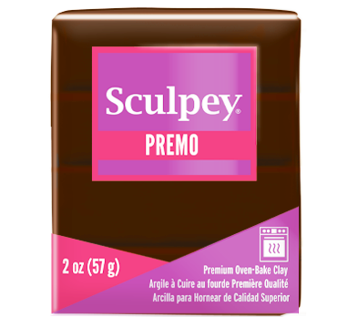 Premo Sculpey® Burnt Umber, 2 oz bar, PE02 5053 - Creative Wholesale